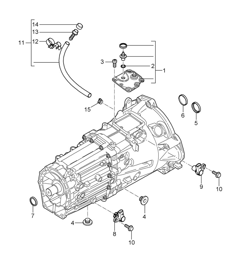 Porsche Cayenne replacement transmission manual