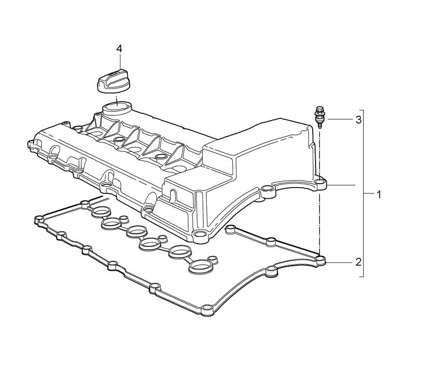 Service manual [2009 Porsche Cayman Removing Valve Cover