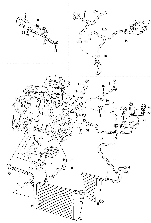 94 vw jetta parts diagram dexter electric brake wiring new crp industries engine coolant hose cabrio