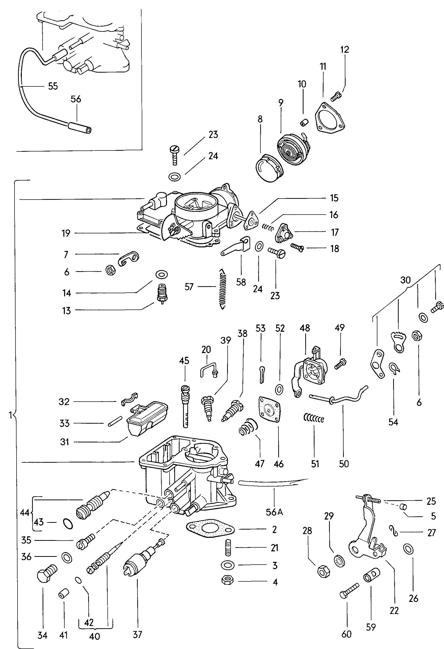 Volkswagen Thing Carburetor