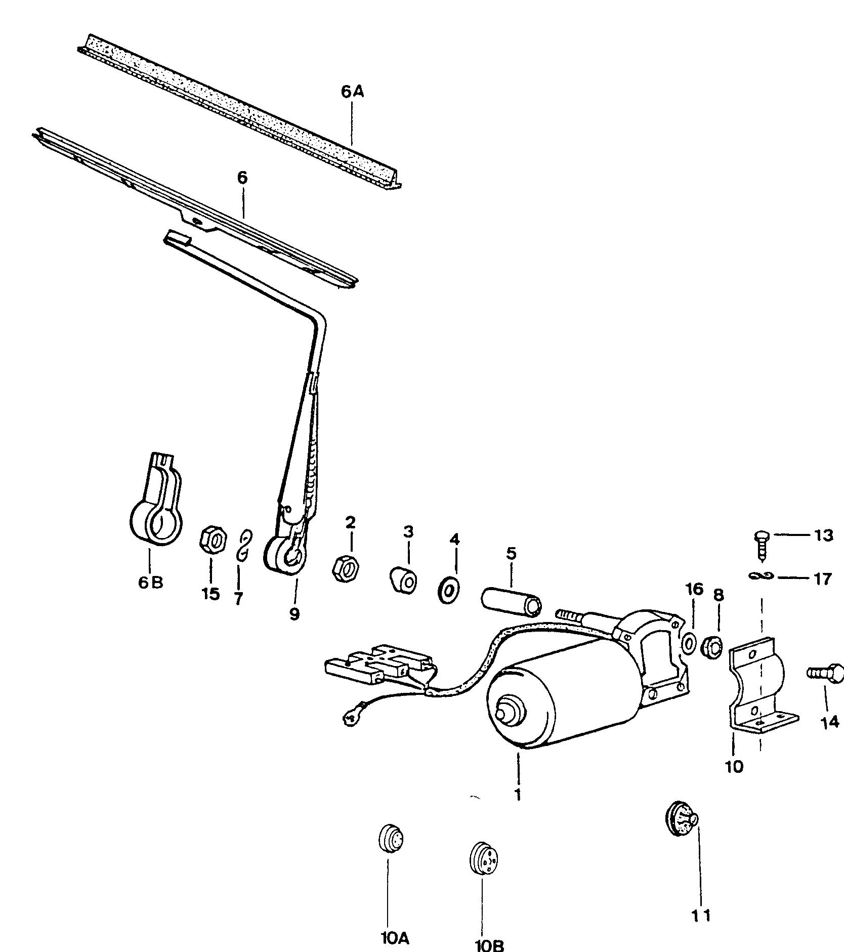 Service manual [Replace Wiper Arm 1990 Volkswagen Fox