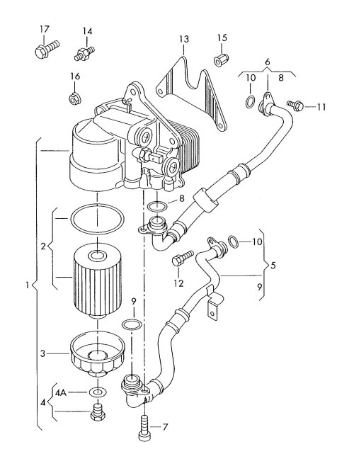 small resolution of w8 engine oil cooler w8 free engine image for user for w8 engine diagram