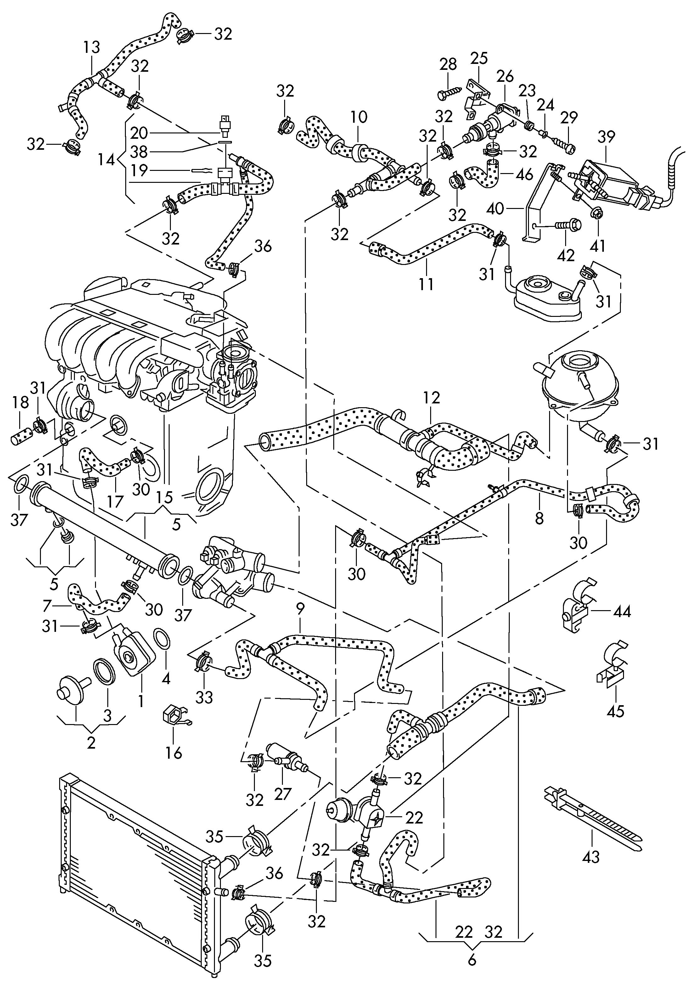 2002 Volkswagen Jetta 1 8 Engine Diagram 2002 Jetta 2.0