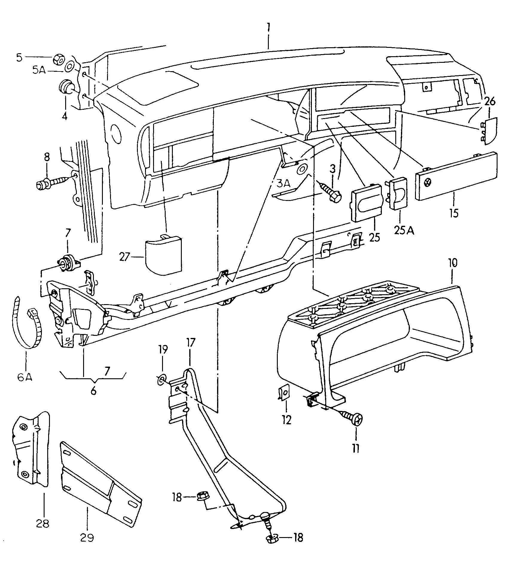 Diagram Likewise Vw Jetta Fuse Box On 92 Wiring Diagram