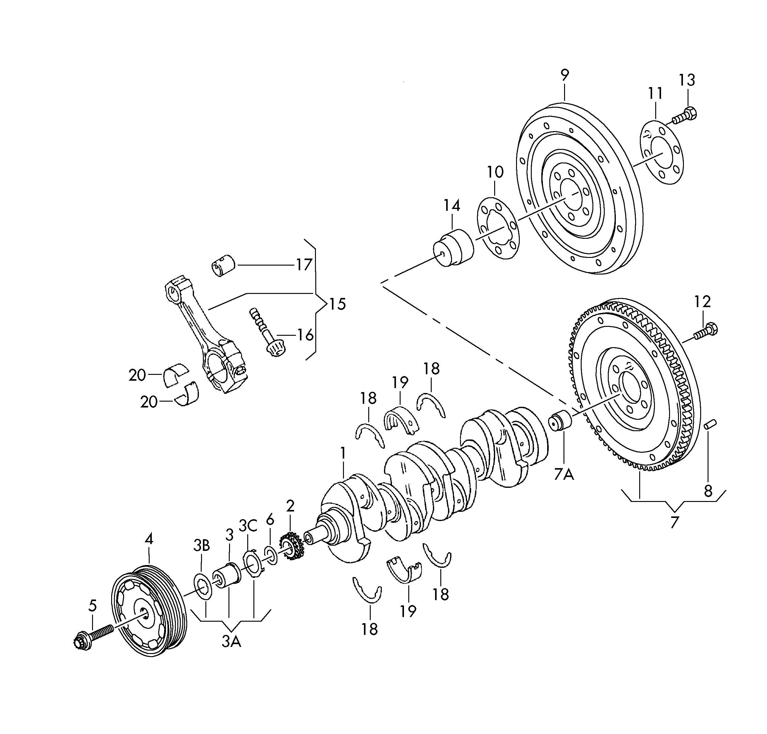 Vw Passat Engine Parts Diagram