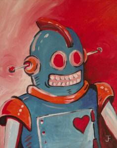 Blue Robot - Jim Faris