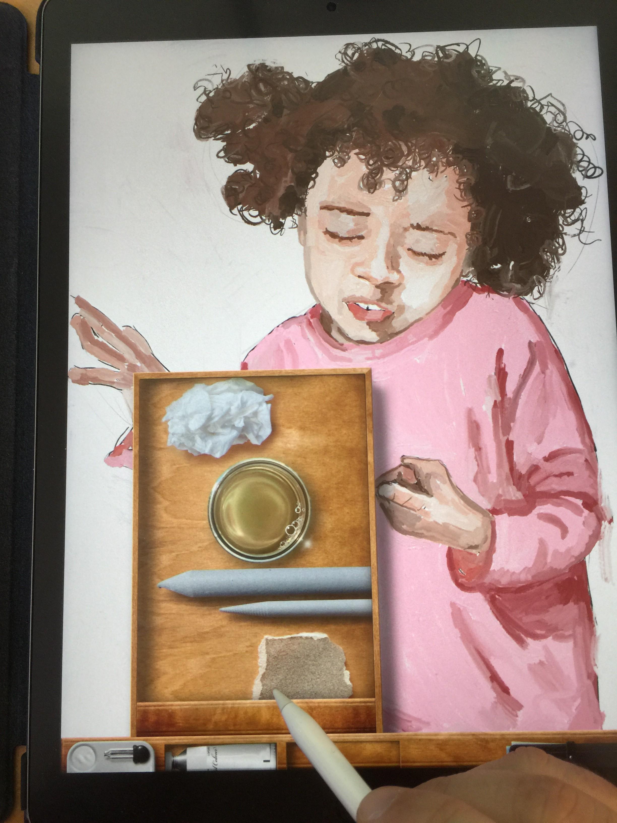 Painted on iPad - Jim Faris