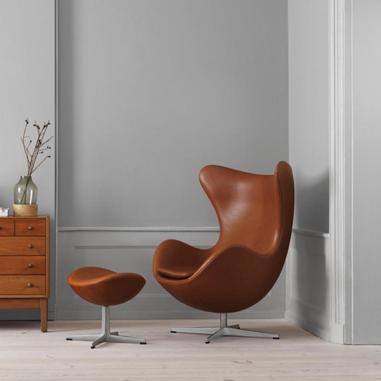 騰燁TENGYE創意咖啡廳旋轉沙發椅北歐牛皮雞蛋椅子休閑懶人躺椅TY-401價格|品牌|采購|批發廠家-家具在線