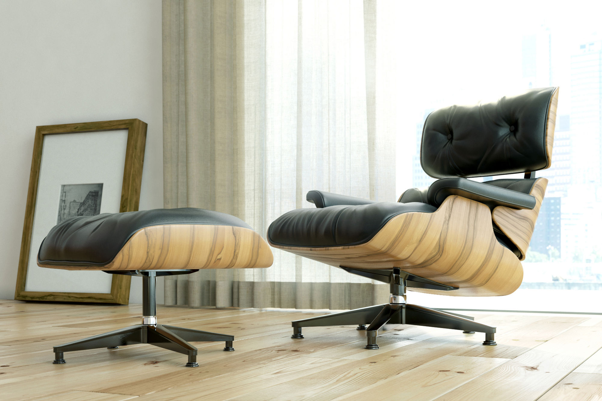 EAMES LOUNGE CHAIR  THE FRESHEST