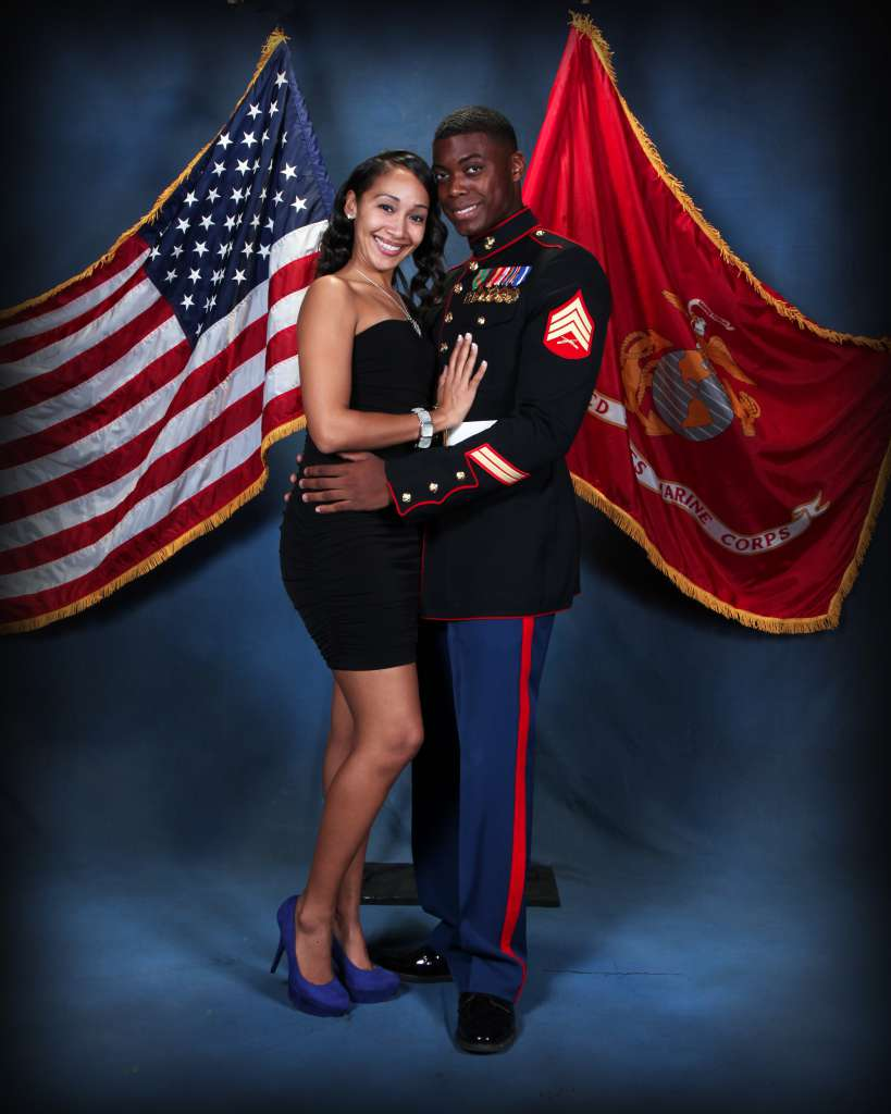 Marine Military Ball Portraits