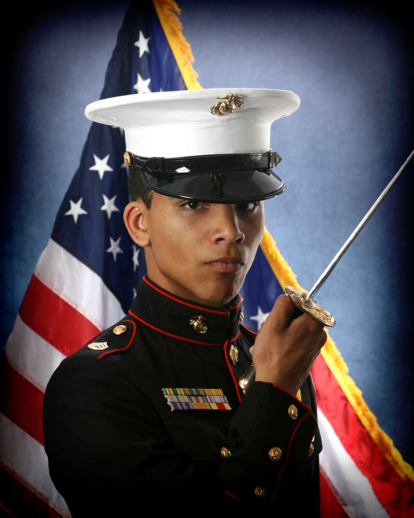 Marine ROTC Portrait