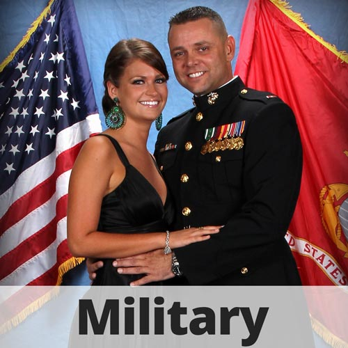 Professional Military Portraits