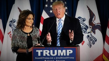 "Palin Blasts Trump For ""Crony Capitalism"""