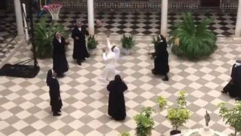 Nuns Take A Break From Making Coronavirus Masks To Play Basketball & World LOVES It