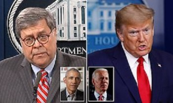 Barr Tosses Ice Water On 'Obamagate' Rhetoric – Trump Says He's 'Surprised' By It