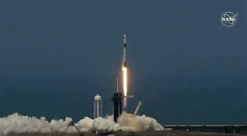 Liftoff! Billionaire Elon Musk's SpaceX Puts NASA Astronauts Back In Space