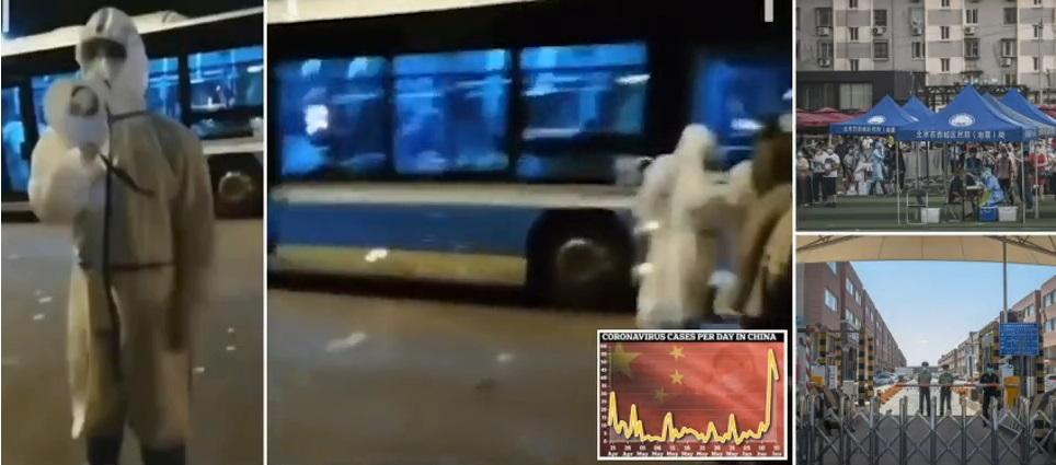 Beijing Back Under Quarantine – City Again Under Coronavirus Lockdown With New Travel Bans