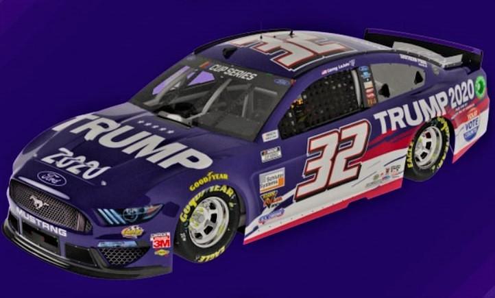 Trump Enters NASCAR – Corey LaJoie's #32 Car Promotes Reelection