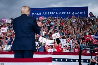 Trump Ignores North Carolina GOP Official & Holds Rally Without Requiring Masks