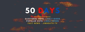 JimHeath.TV Starts Election '20 COUNTDOWN COUNTER – Daily Forecast Of Nov Election