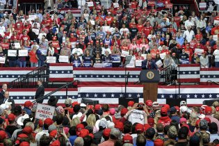 Trump Holds Rallies As Virus Tops 83K For 2nd Day – Pence Top Aide Tests POSITIVE