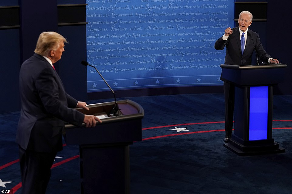 Trump Unleashes Record Number Of Lies During Final Debate With Biden