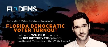 Tom Ellis Turns His Lucifer Star Power Into Fundraiser For Florida Democrats