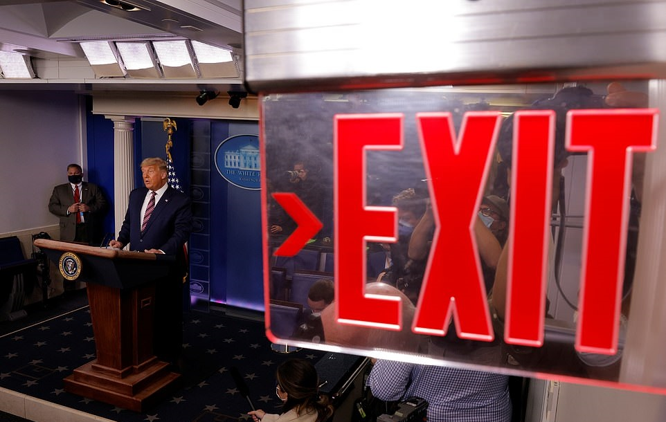 Trump A Loser – Not Dealing With Defeat Well, Lashing Out At Democracy