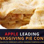 Apple Leading JimHeath.TV Thanksgiving Pie Poll – But CRANBERRY Winning On Instagram