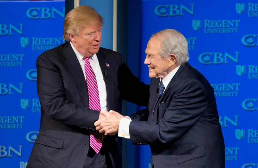 Top Backer Pat Robertson Calls Trump 'Erratic' & 'Living In An Alternate Reality'