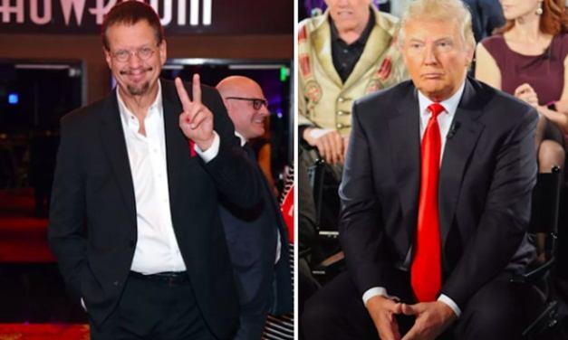 Magician & Former Celebrity Apprentice Star Penn Jillette Calls Trump 'A True Villain'