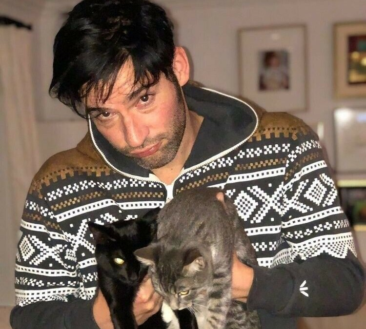 From Cat Hater To Lover, Tom Ellis Auctions Off Zoom Call For His Feline Friends
