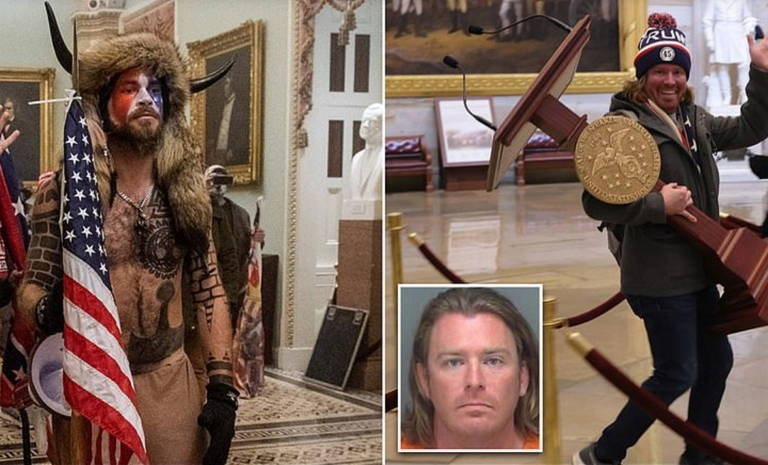 QAnon Leader & White Nationalist Latest MAGA Thugs Arrested For Attack On Capitol