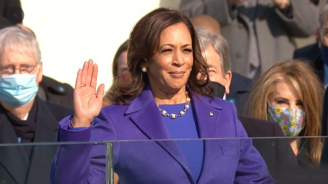 Harris Takes Historic Oath – First Woman To Become Vice President