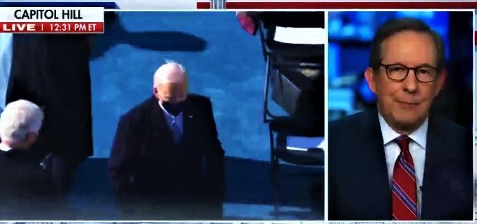 WATCH: Chris Wallace Tells Fox Audience Biden's Inaugural Speech 'Best I've Ever Heard'