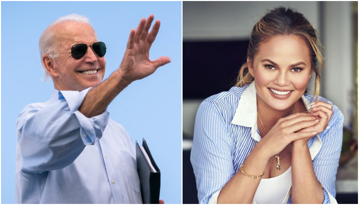 Biden Unfollows Chrissy Teigen On Twitter At Her Request – 'I Use Too Many Curse Words!'