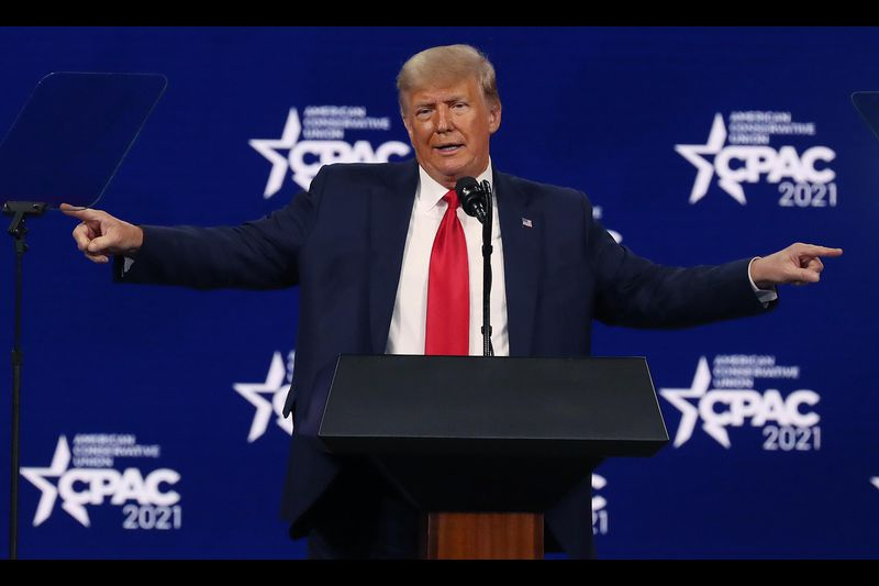 One-Term Trump Returns To CPAC With Familiar Bag Of Lies & Conspiracy Theories