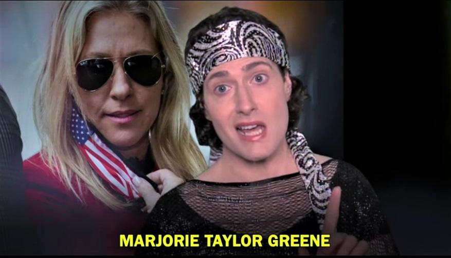 WATCH: Randy Rainbow Eviscerates Loony QAnon Republican Marjorie Taylor Green