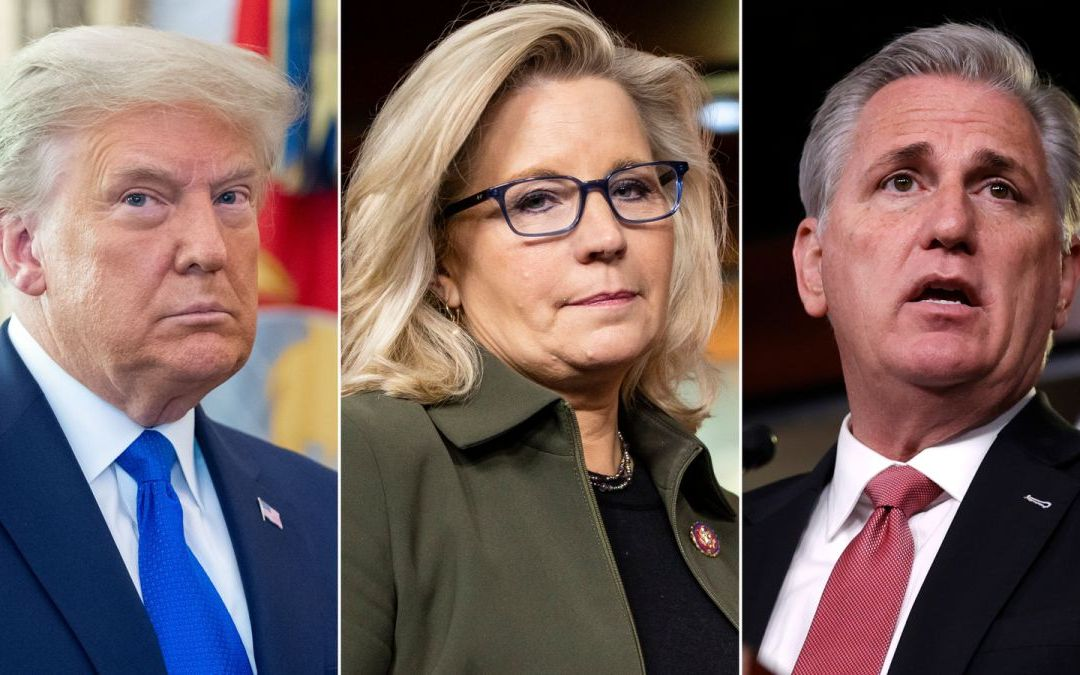 Cheney Voted Out – Republicans Ditch Truth For Trump's Wild Lies