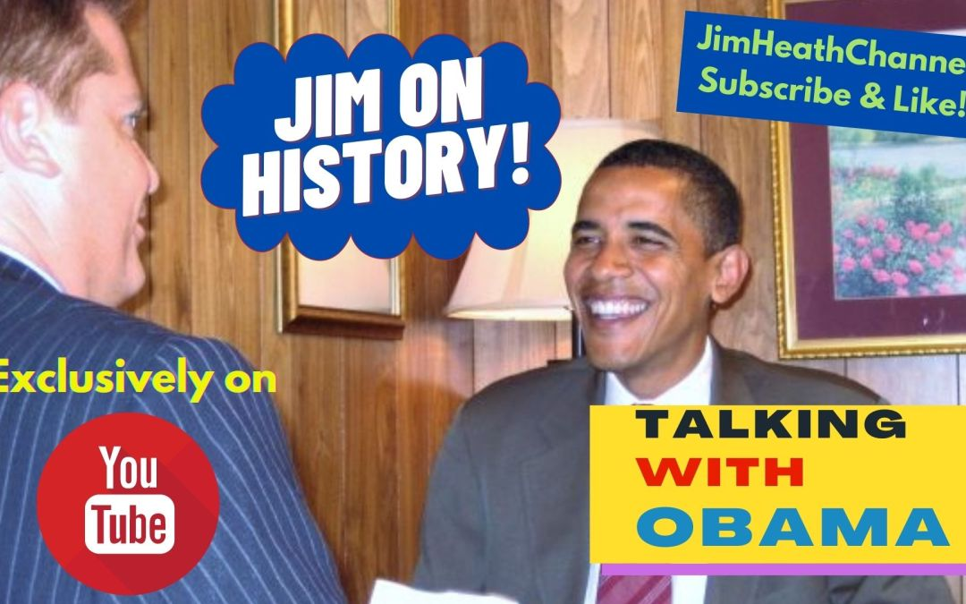 WATCH: Jim On History With Barack Obama – Race & Politics In America