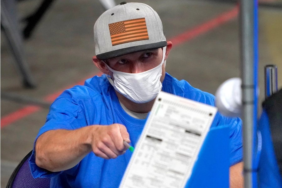 Cyber Ninjas Right-Wing AZ Ballot Report Delayed Again Due To Covid