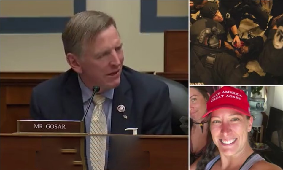 Gosar Claims Capitol Police 'EXECUTED' Rioter After She Stormed Building