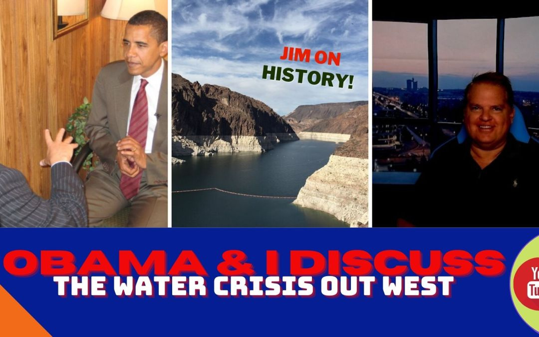 WATCH: Discussing Western Water Crisis With Obama A DOZEN Years Ago
