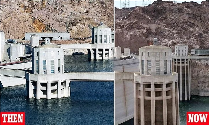 DROUGHT EMERGENCY OUT WEST: Hoover Dam Water Levels At LOWEST In History