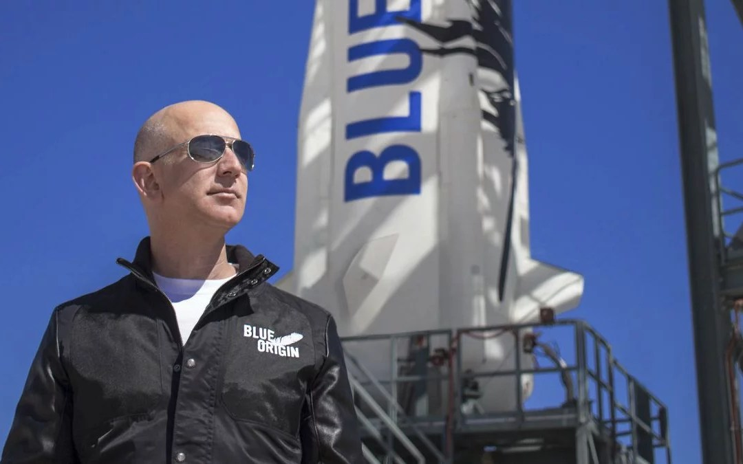 WATCH: World's Richest Man Will Launch Into Space Tuesday