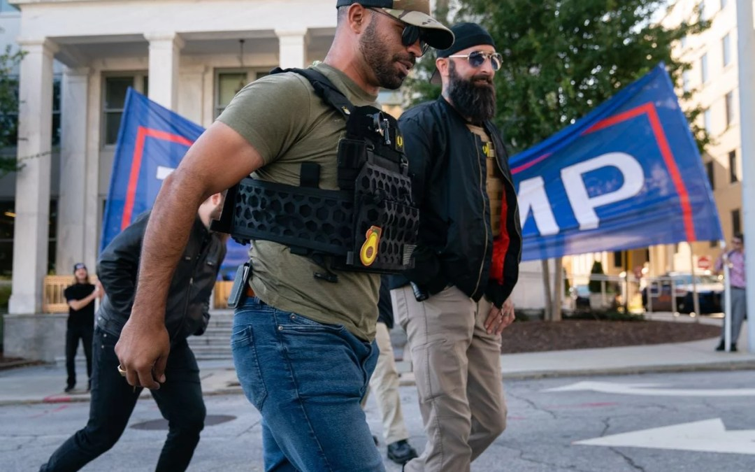 Leader Of Right-Wing 'Proud Boys' Sentenced To 5 Months In Jail After Vandalizing Black Church