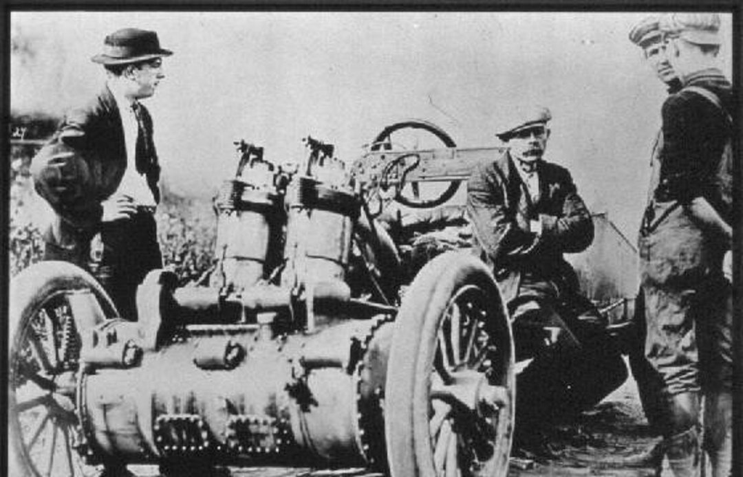 FRONT WHEEL DRIVE – IN THE BEGINNING