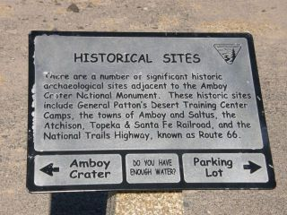 STARTING THE NEW YEAR WITH A ROAD TRIP TO AMBOY