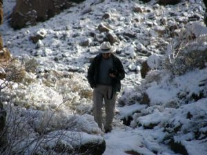 My dearest friend captured this moment of contemplation during a winter outing in Arizona.