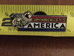 Jim Hinckley's America pin